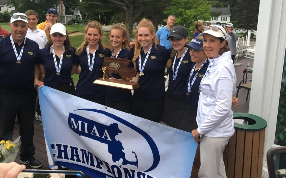 Notre Dame-Hingham won the team title.