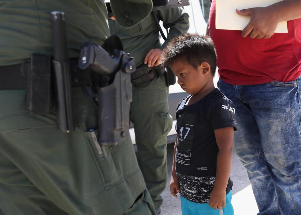 2,000 Families Separated After Being Caught Crossing Border Illegally