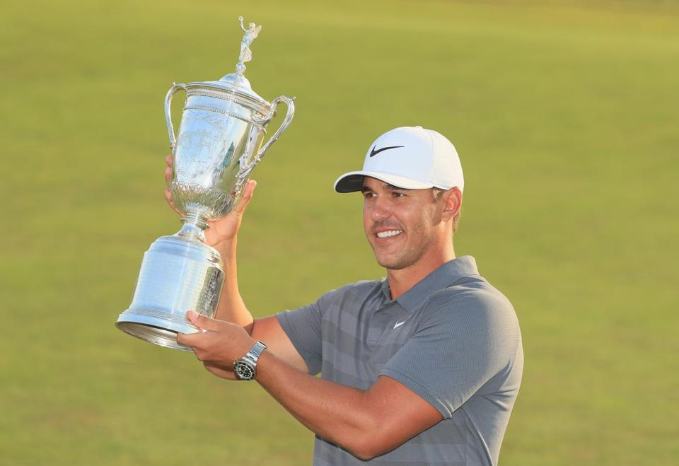 Brooks Koepka wins the US Open golf title