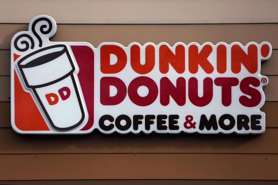 Dunkin' Donuts sign asks customers to report employees who don't speak English