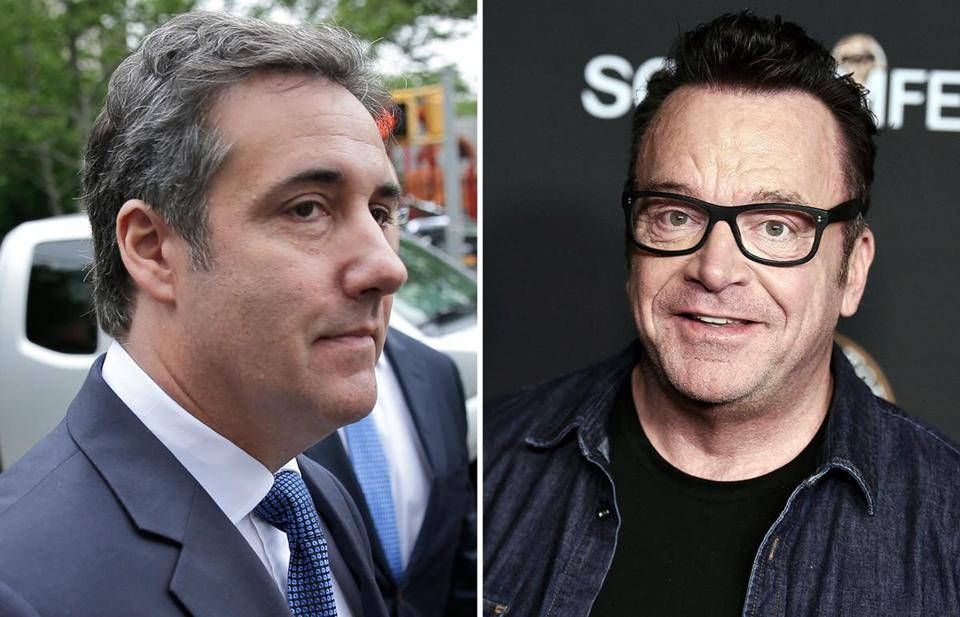 Michael Cohen buddies up with Tom Arnold