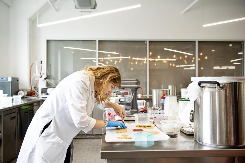 Chew acts as a research lab, selling its food science to corporate giants by finding ways to cut the sugar from an iconic soda or conceive of an entirely new product.