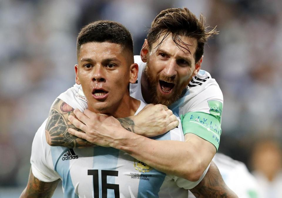 Argentina still alive at World Cup after defeating Nigeria