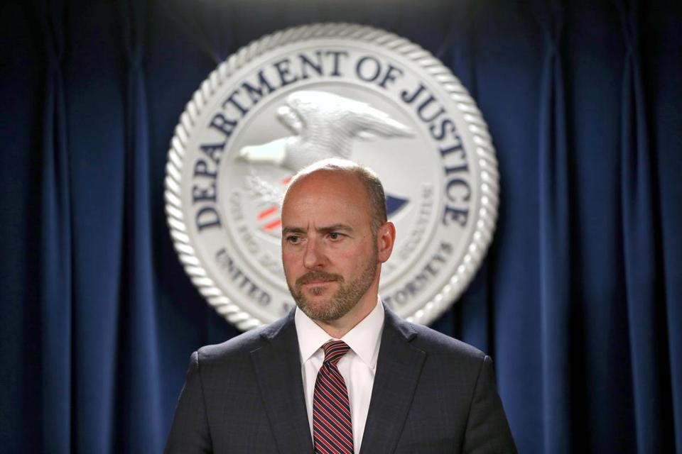 Andrew Lelling, the US attorney for Massachusetts, in June.