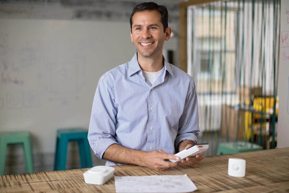 SimpliSafe chief executive Chad Laurans.