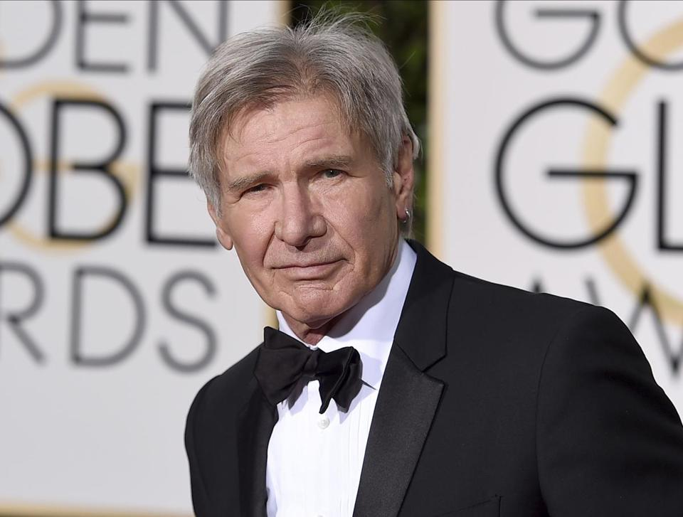 "FILE - In this Jan. 10, 2016 file photo, Harrison Ford arrives at the 73rd annual Golden Globe Awards in Beverly Hills, Calif. The Walt Disney Co. on Tuesday announced that the planned fifth installment in the ""Indiana Jones"" franchise will be released in July 2021 instead of July 2020. The film was originally scheduled for release in the summer of 2019. Steven Spielberg is set to direct the latest film, with Ford also reprising his role. Ford will turn 79 years old in July 2021. (Photo by Jordan Strauss/Invision/AP, File)"