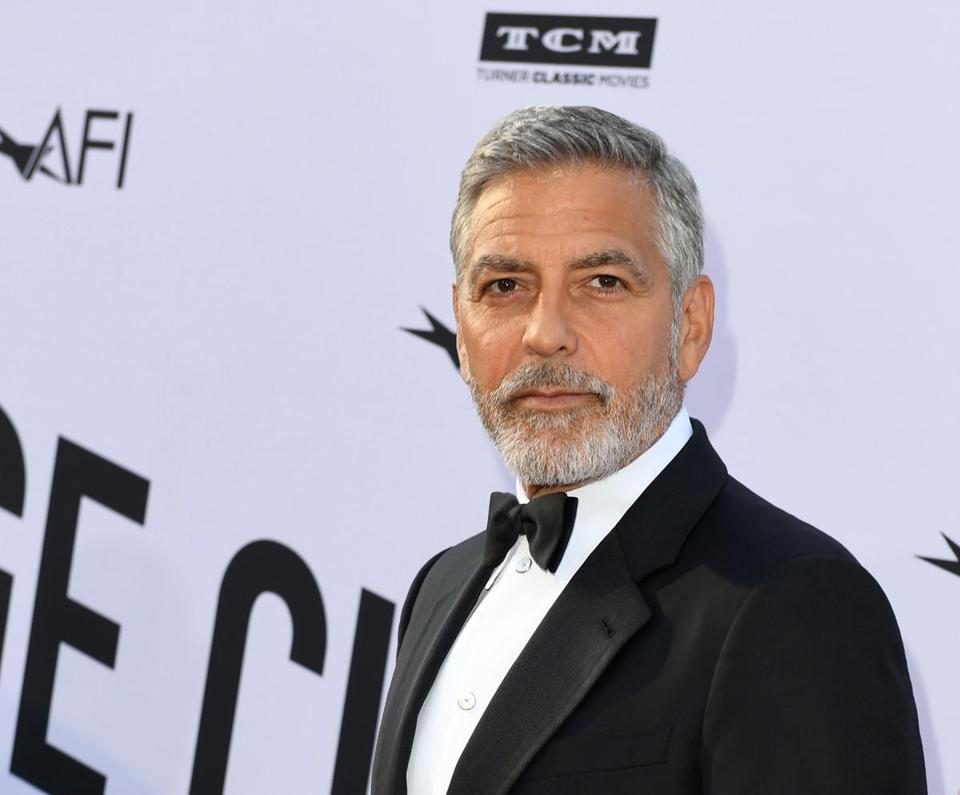 (FILES) In this file photo taken on June 07, 2018 US actor George Clooney attends the 46th American Film Institute Life Achievement Award Gala at the Dolby Theatre in Hollywood. YouTube Premium webcast has commissioned a dark humor comedy that will be co-produced by George Clooney and Kirsten Dunst, who will also be the lead performer, according to the specialized media on June 25, 2018 / AFP PHOTO / VALERIE MACONVALERIE MACON/AFP/Getty Images