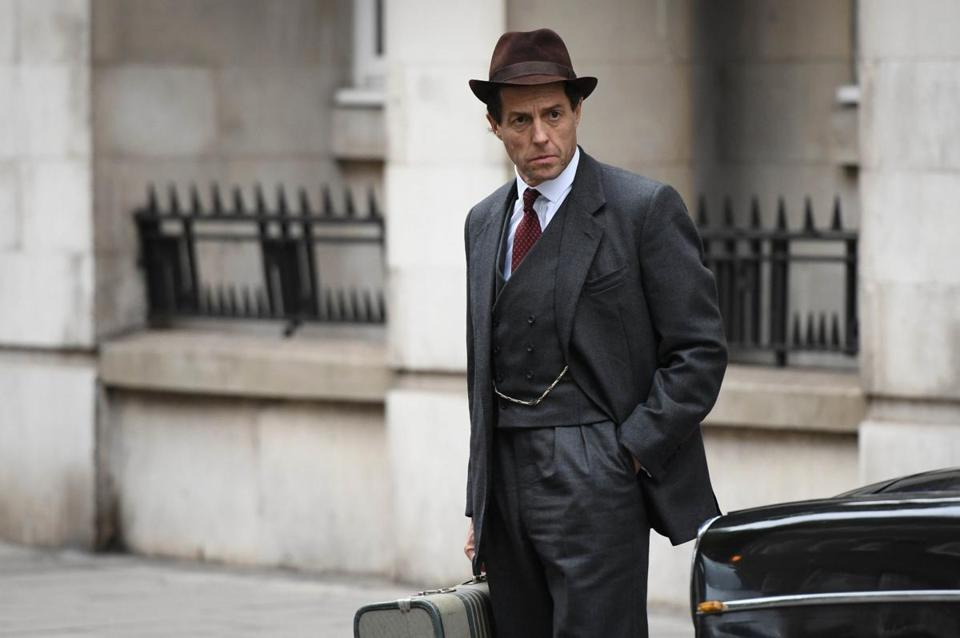 "Hugh Grant stars in ""A Very English Scandal."""