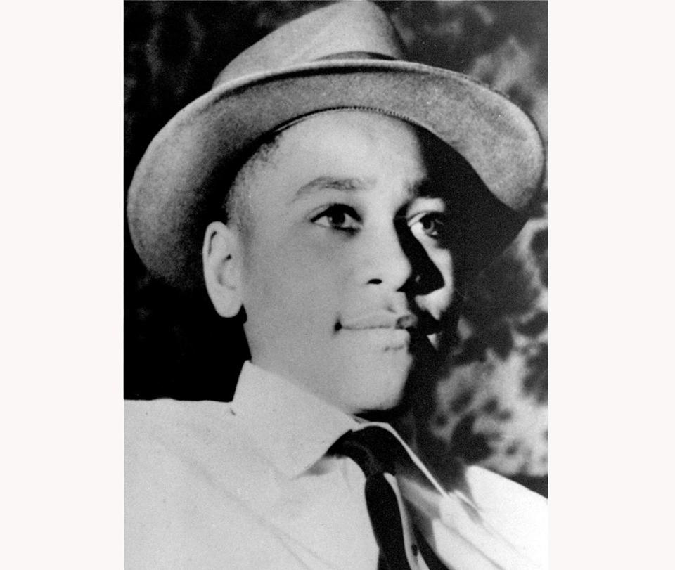 This undated photo shows Emmett Louis Till, a 14-year-old black Chicago boy who was kidnapped, tortured and murdered in 1955 after he allegedly whistled at a white woman in Mississippi.