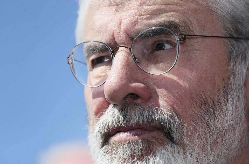 Gerry Adams calls on home attackers to meet him