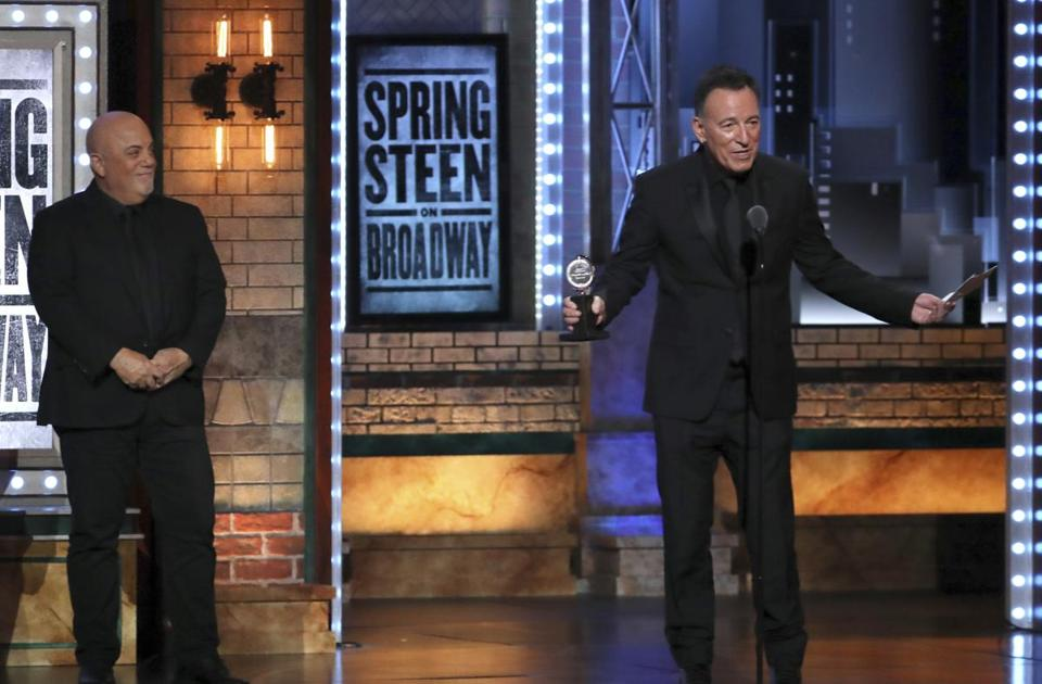 Bruce Springsteen won a Special Tony Award this year for his run of solo performances.