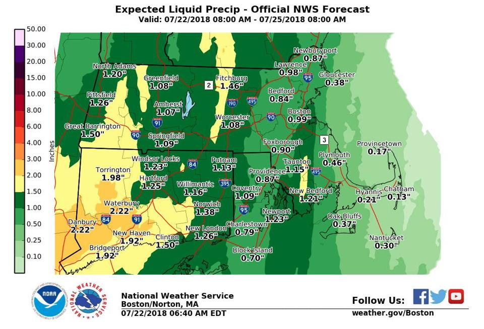 Flash flood watch extended through Wednesday for Williamsburg region | Williamsburg