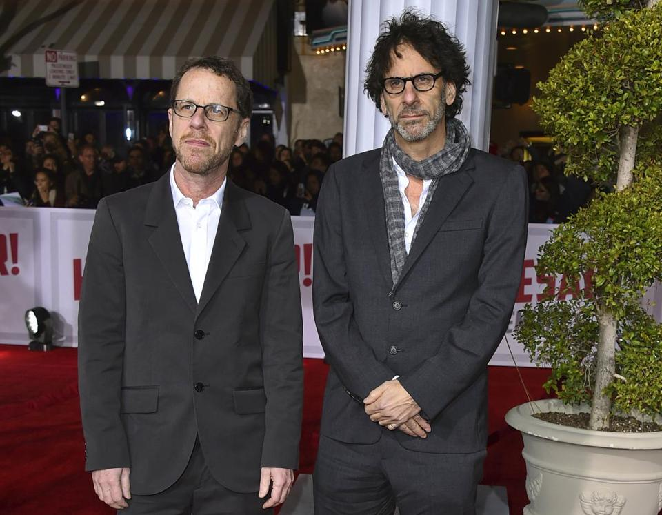 "Ethan (left) and Joel Coen, co-writer-directors of ""The Ballad of Buster Scruggs."""