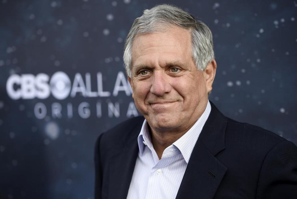 CBS chief executive Les Moonves.