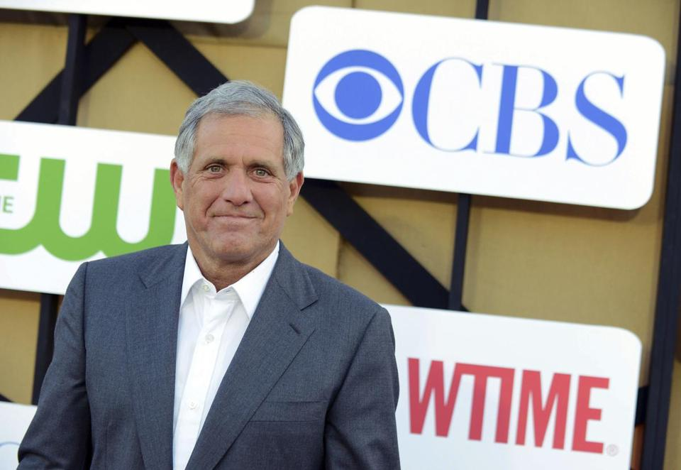 CBS Corp. chief executive is facing allegations of sexual harassment.