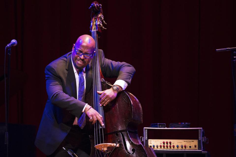 Christian McBride, shown performing at Harvard's Sanders Theatre, is scheduled to appear at the 2018 Newport Jazz Festival.