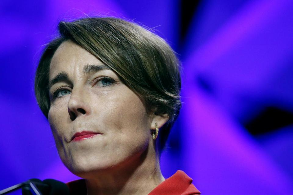 Attorney General Maura Healey filed the lawsuit two years ago against three district attorneys.