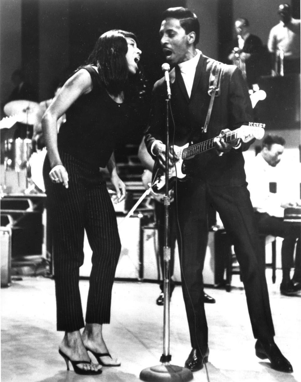 Tina and Ike Turner in 1966.