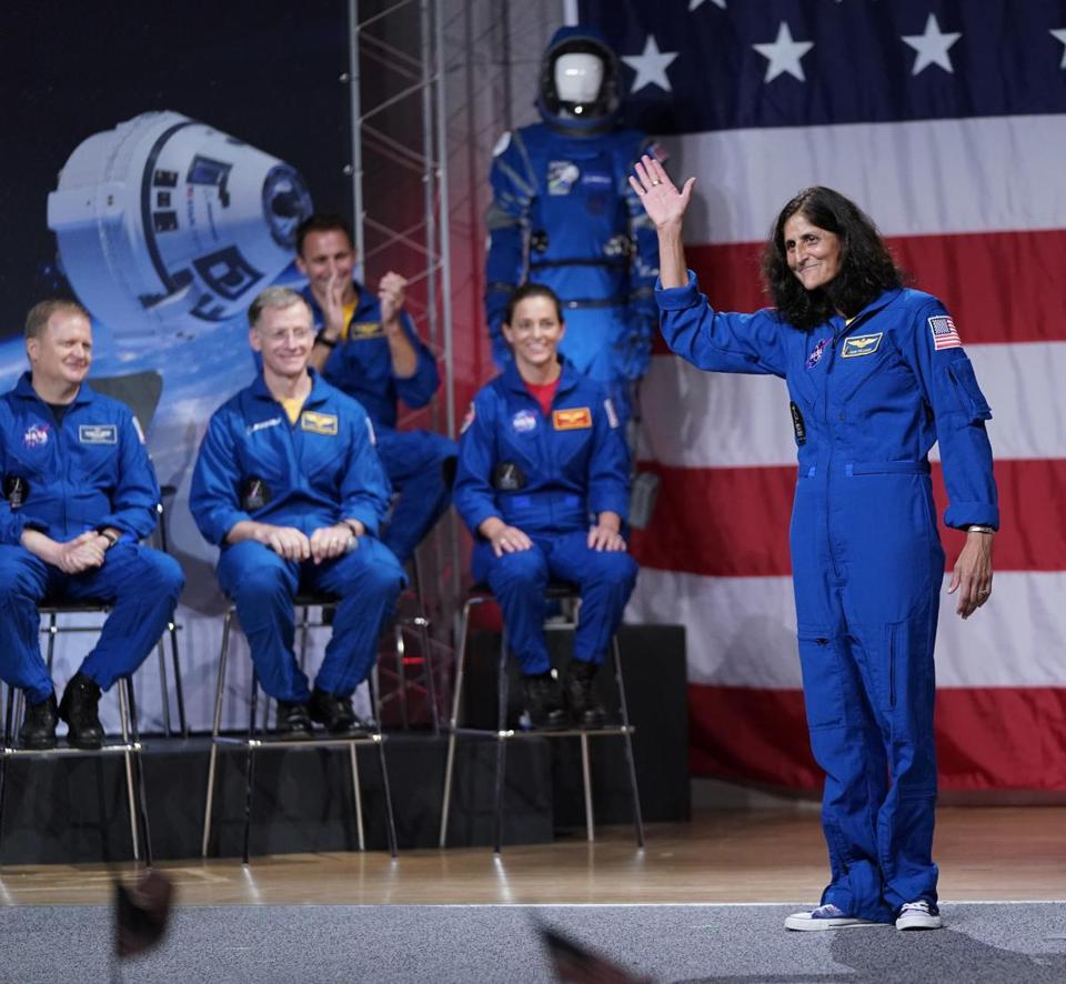 Sunita Williams among 9 astronauts for NASA's new private space flight programme