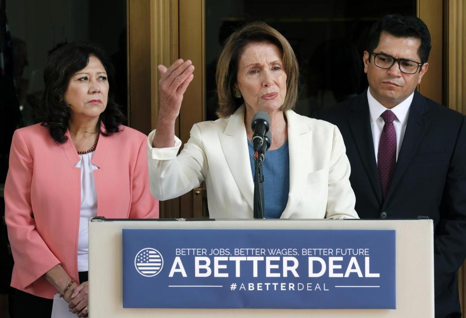 "The Democratic Party has replaced its old slogan, ""A Better Deal,"" with one lifted from a personal injury law firm's ads."