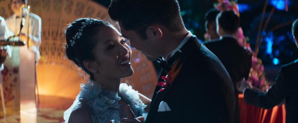 "Constance Wu and Henry Golding star in ""Crazy Rich Asians."""