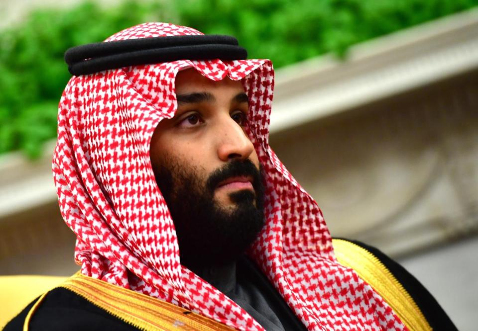 Crown Prince Mohammed bin Salman of Saudi Arabia, shown during a meeting with President Trump at the White House in March.