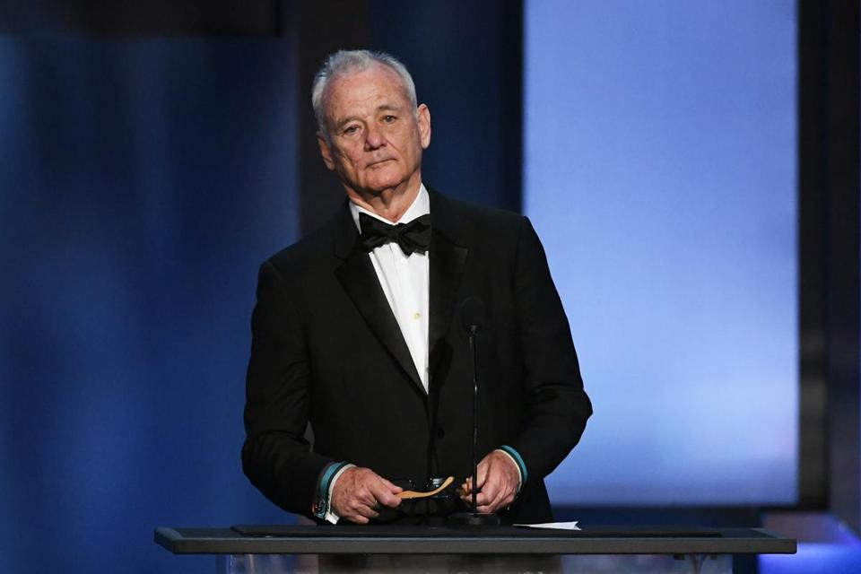 Bill Murray spoke onstage during the American Film Institute's 46th Life Achievement Award Gala Tribute to George Clooney in June.