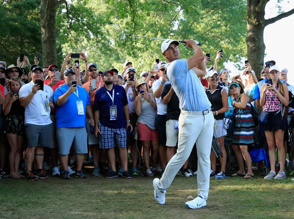 Koepka, Woods, Scott shine as PGA TOUR's THE NORTHERN TRUST approaches