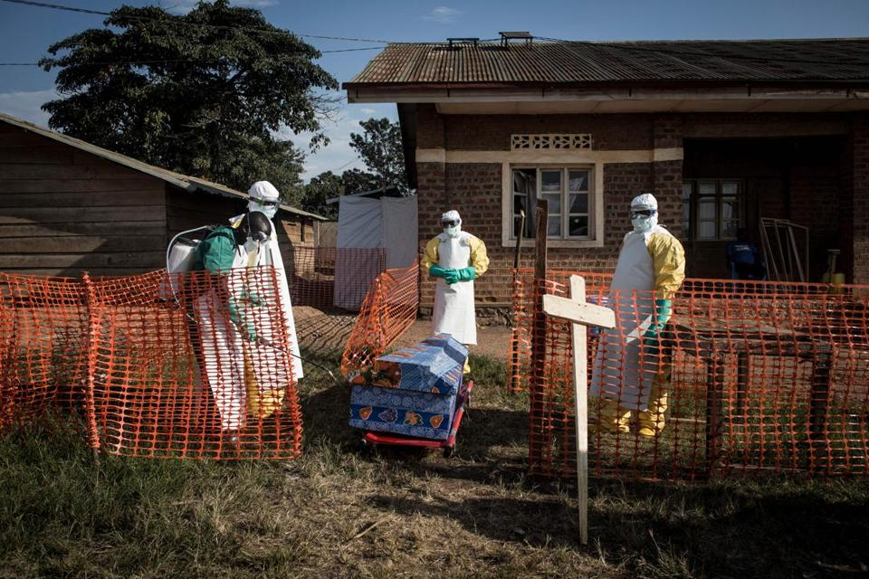 Ebola may be spreading undetected in Congo's conflict zones