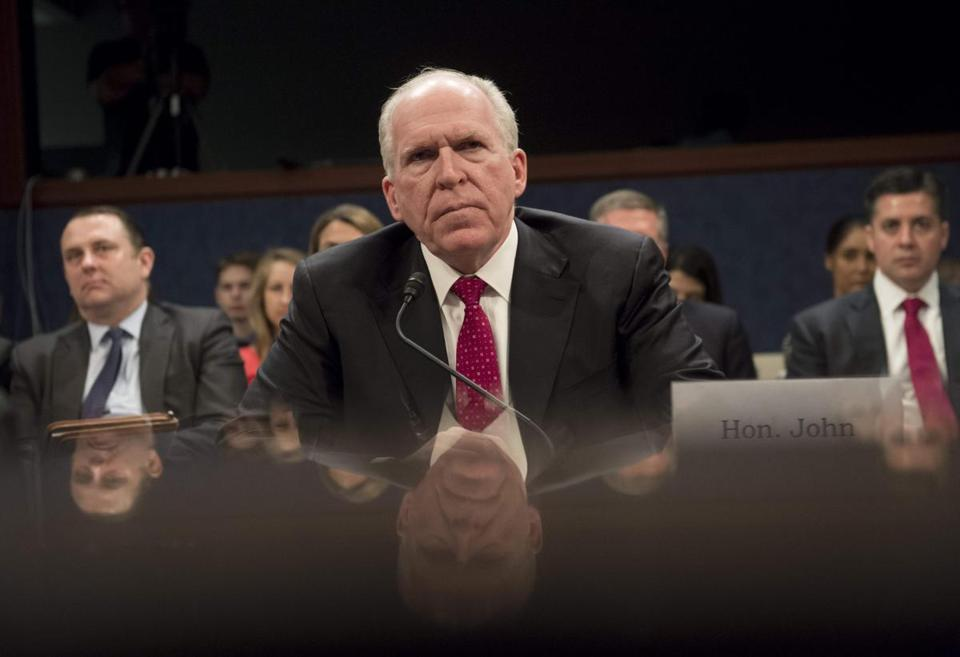 Trump revokes security clearance for ex-CIA chief Brennan