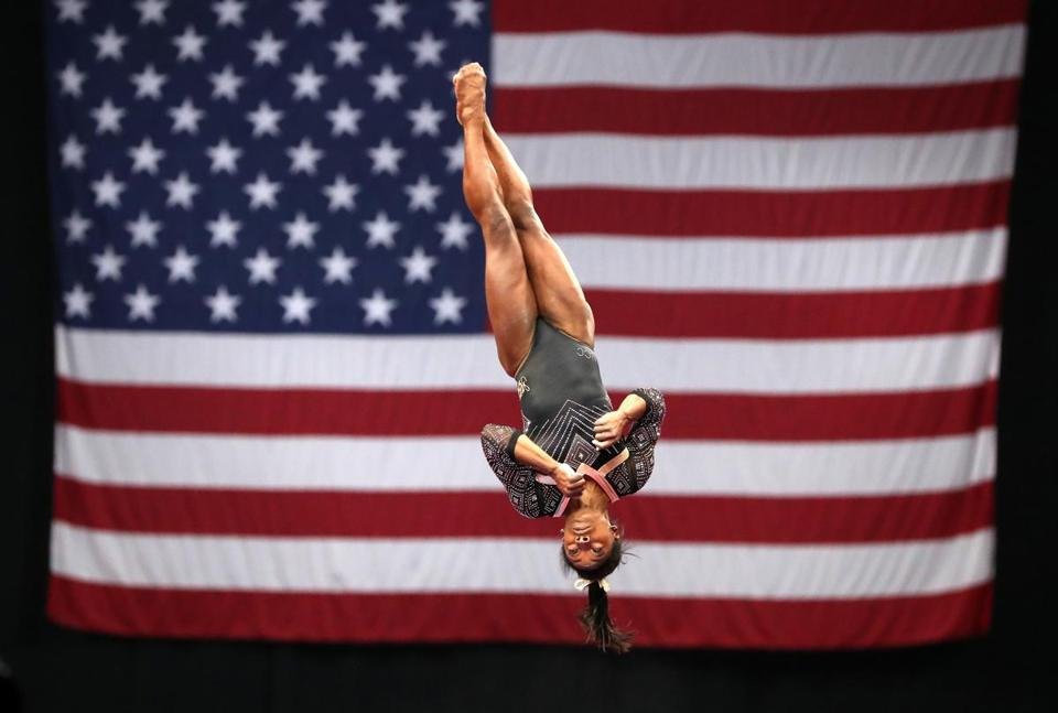 US Gymnastics Championships in Boston