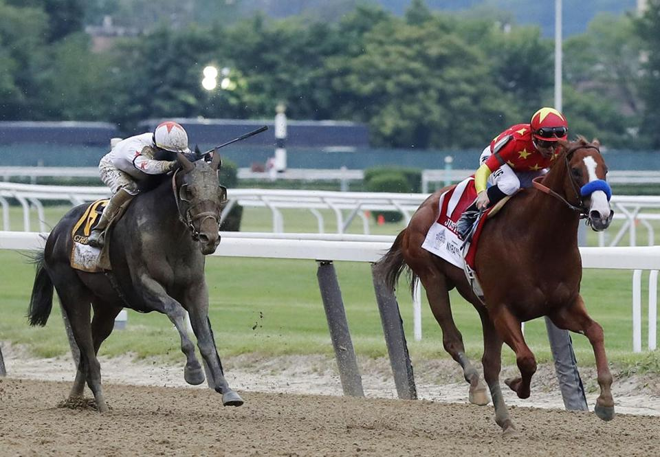 Catholic Boy wins Travers Stakes at Saratoga