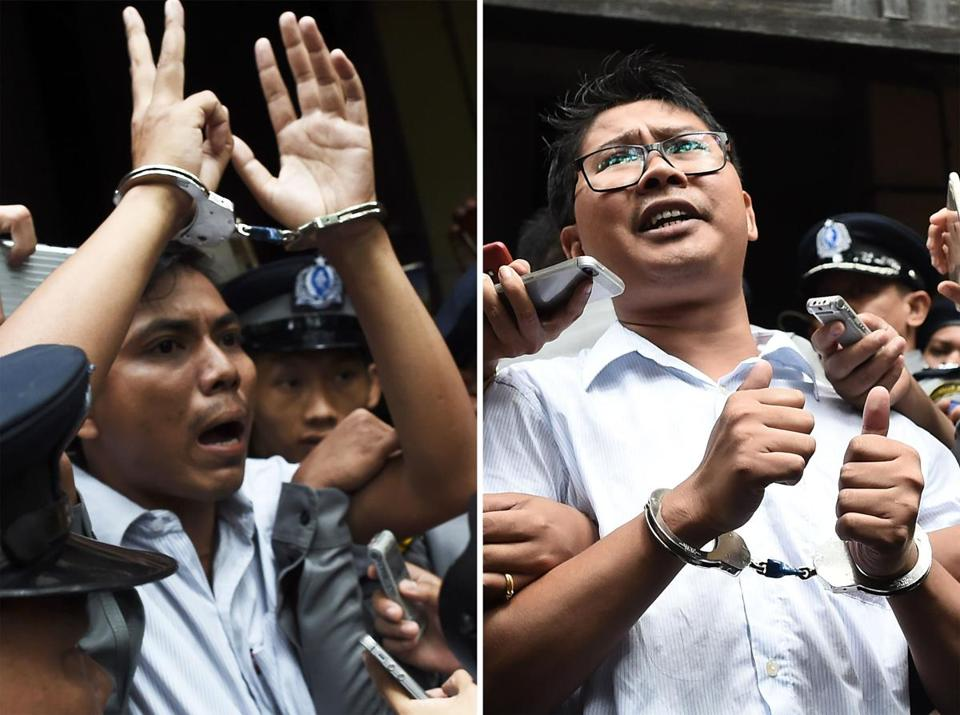 Myanmar: 7 Years for Reporting the Truth