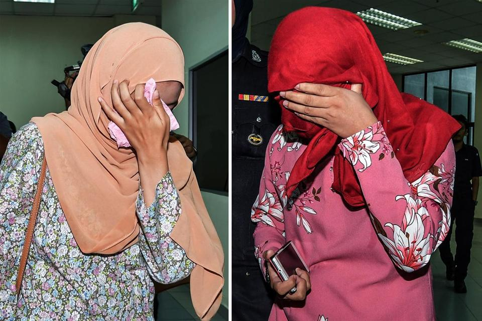 Two women whipped six times at Terengganu Syariah High Court