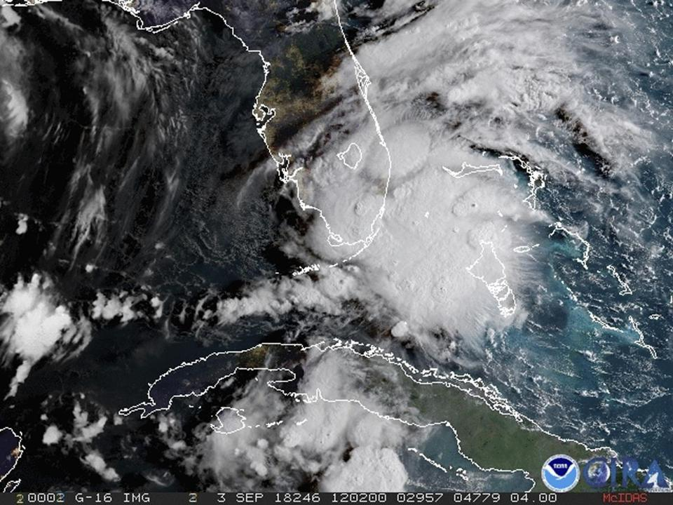 Potential tropical cyclone expected to move through the Florida Keys on Monday