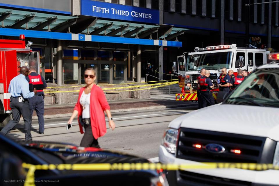 United States  shooting: 4 killed, 2 injured in Cincinnati bank building, investigation underway