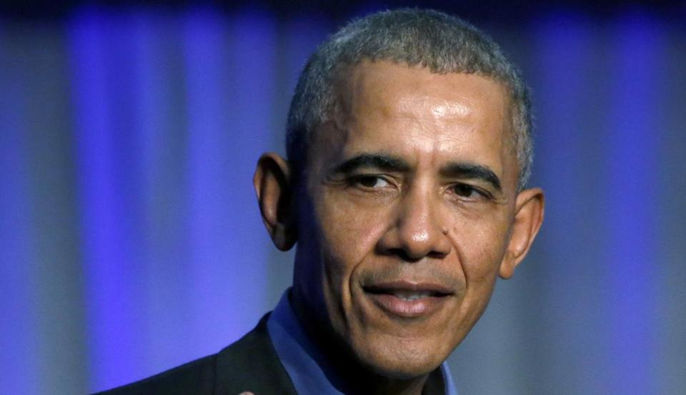Obama launches stinging attack on Trump