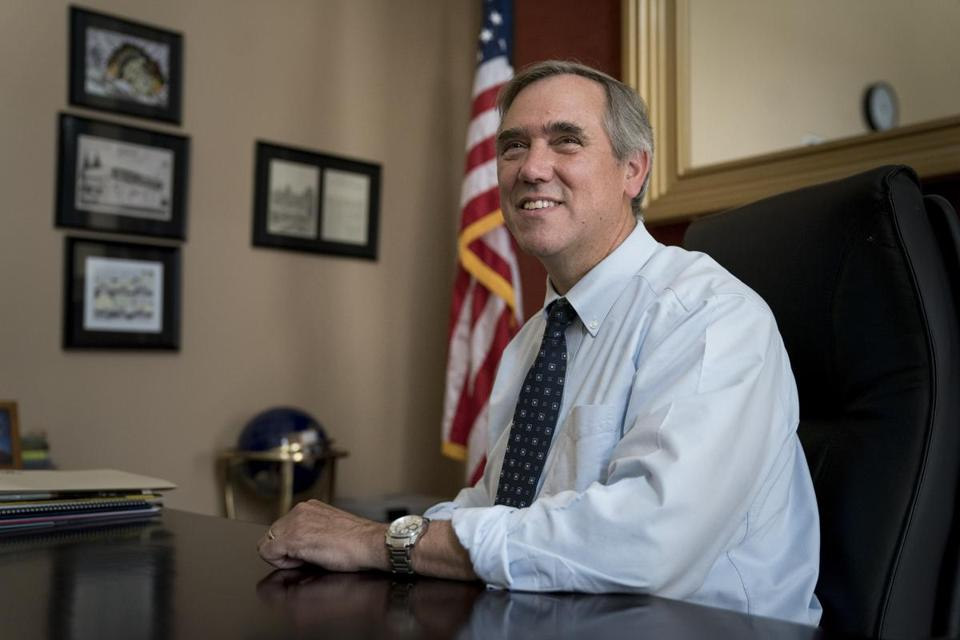 Senator Jeff Merkley of Oregon claimed that the Trump administration transferred nearly $10 million from the government's disaster relief agency to immigration enforcement.