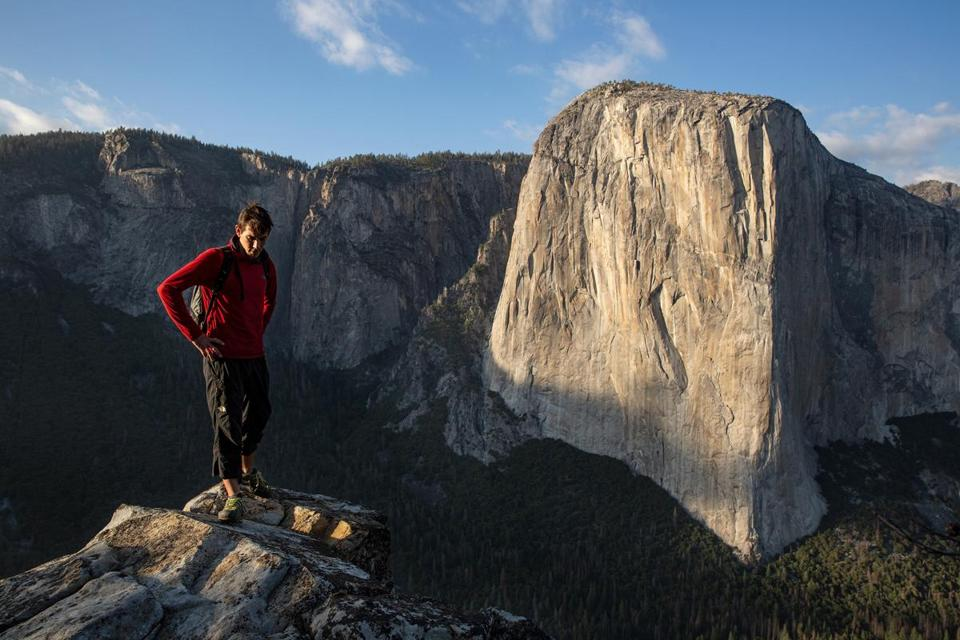 """Free Solo"" follows Alex Honnold's bid to become the first person to scale Yosemite's El Capitan without ropes."