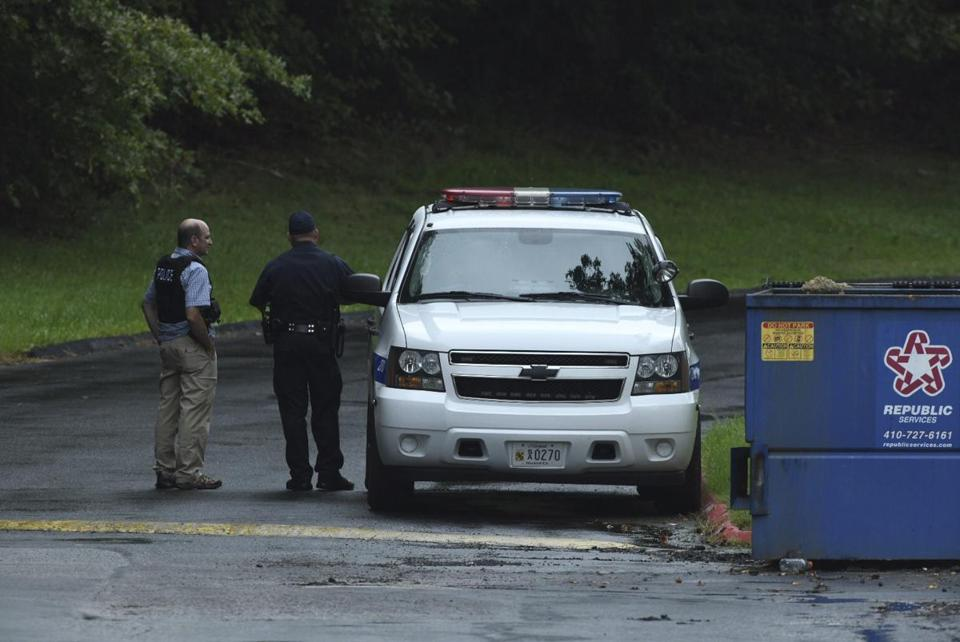 Three dead in warehouse shooting spree in Maryland