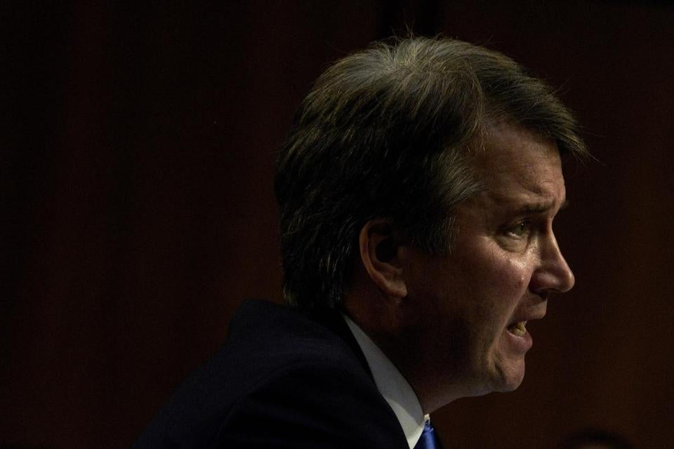 New Accuser Says Kavanaugh Was Present at Sexual Attacks in High School