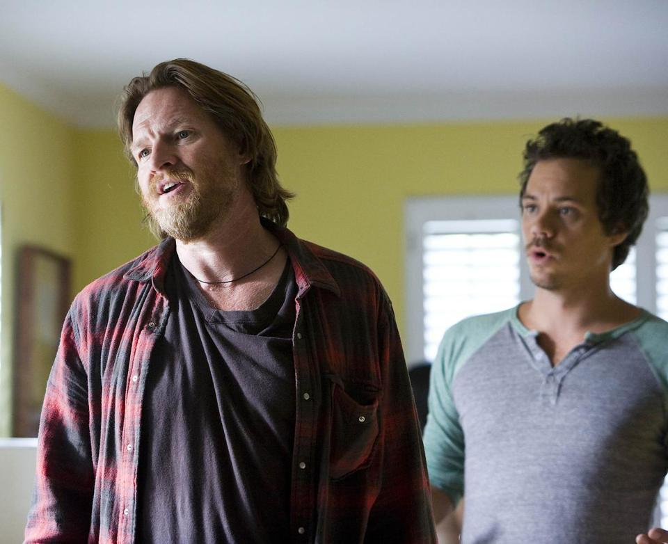 TERRIERS: L-R: Donal Logue as Hank Dolworth and Michael Raymond-James as Britt Pollack in TERRIERS premiering on FX. CR: Jessica Brooks / FX 08terriers Library Tag 09222010 26yearintv