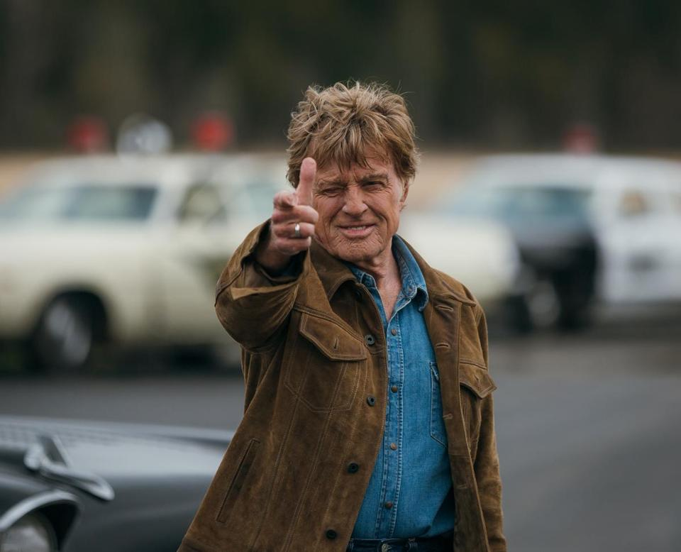 "Robert Redford stars as real-life bank robber Forrest Tucker in ""The Old Man & the Gun."""