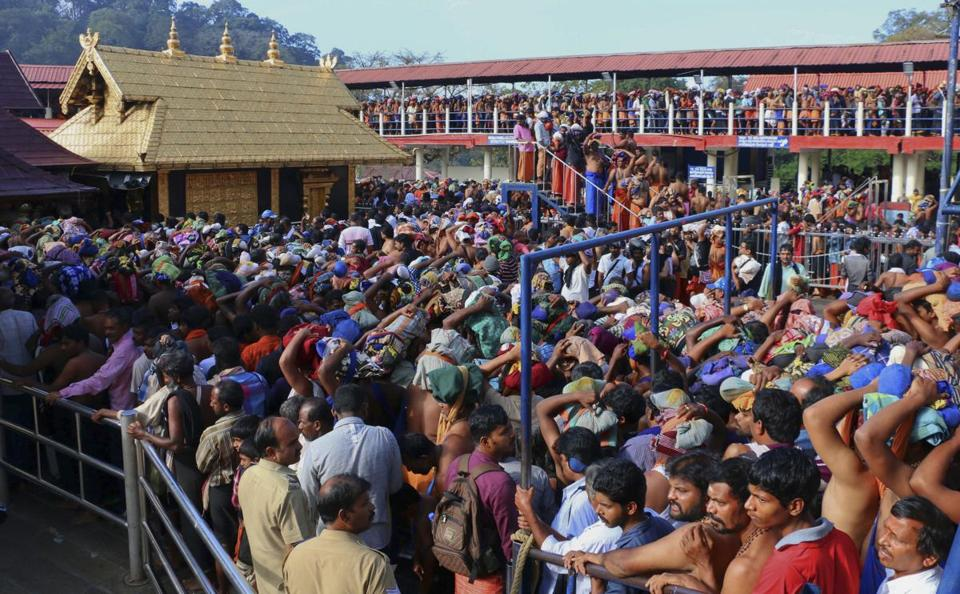 Sabarimala Temple: India's Supreme Court lifts ban on women entering shrine