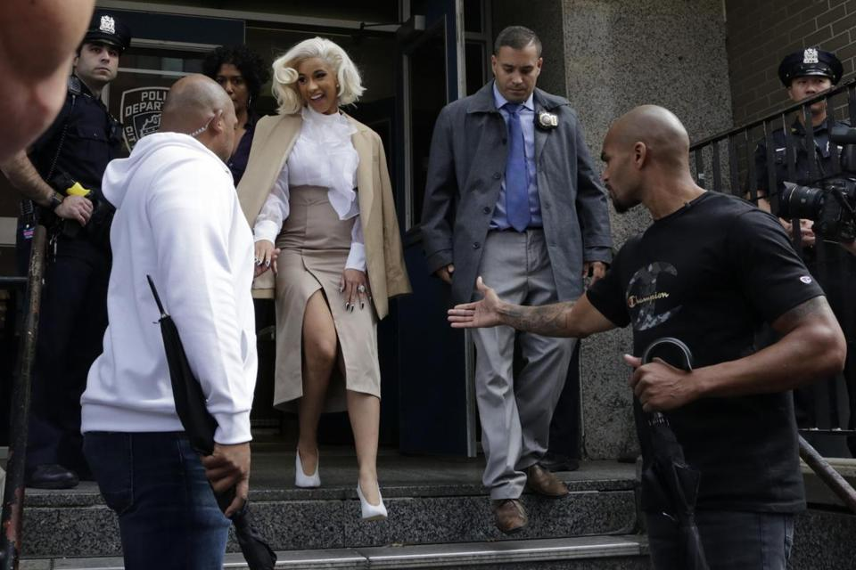 Cardi B Turns Herself in to Police Over Strip Club Fight