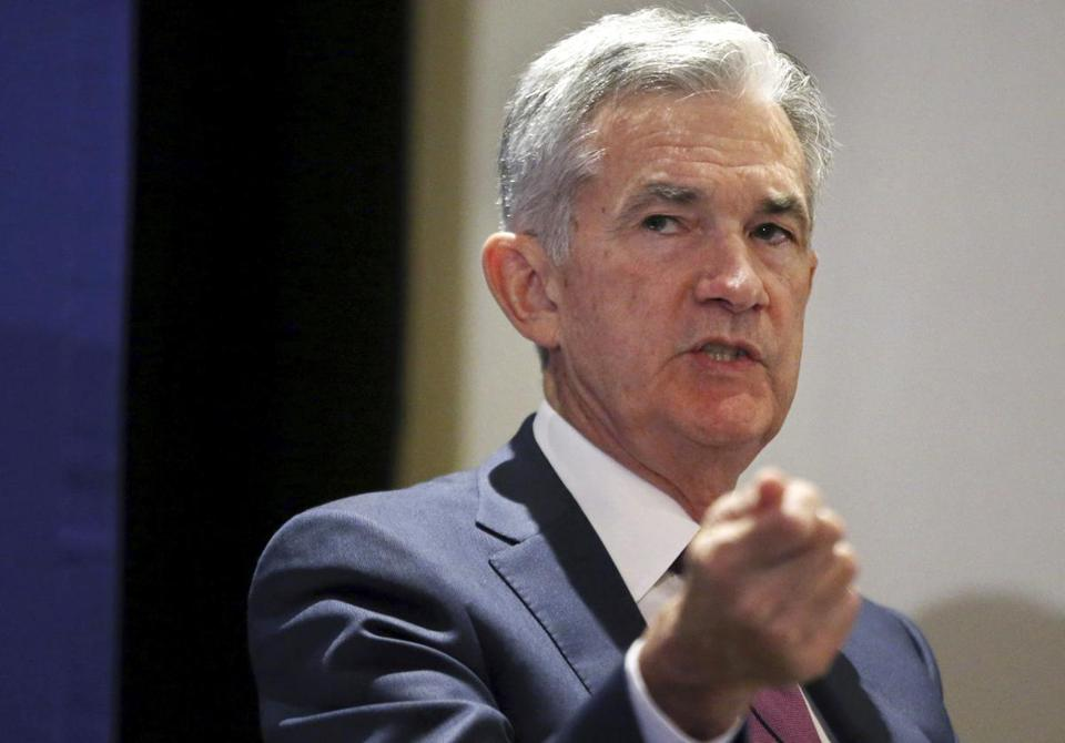 US Fed's Powell: Global growth positive but under pressure