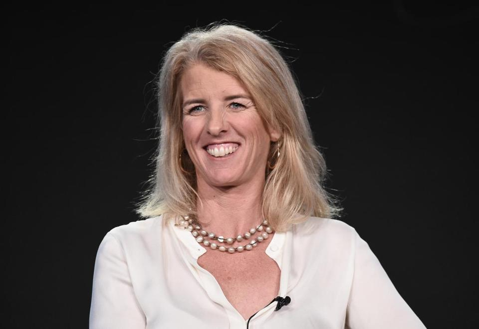 PASADENA, CA - JANUARY 12: Rory Kennedy, director/producer/narrator from 'Above and Beyond: NASA?s Journey to Tomorrow' onstage during the Discovery Channel portion of the Discovery Communications Winter TCA Event 2018 at the Langham Hotel on January 12, 2018 in Pasadena, California. (Photo by Amanda Edwards/Getty Images for Discovery )