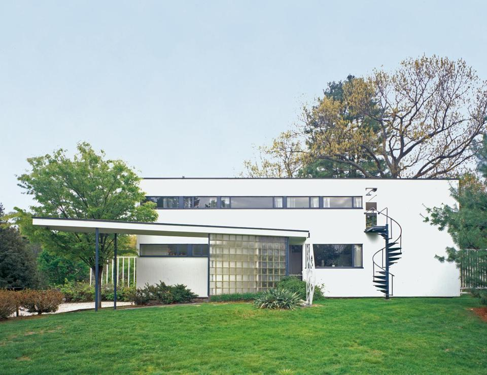 Gropius House in Lincoln