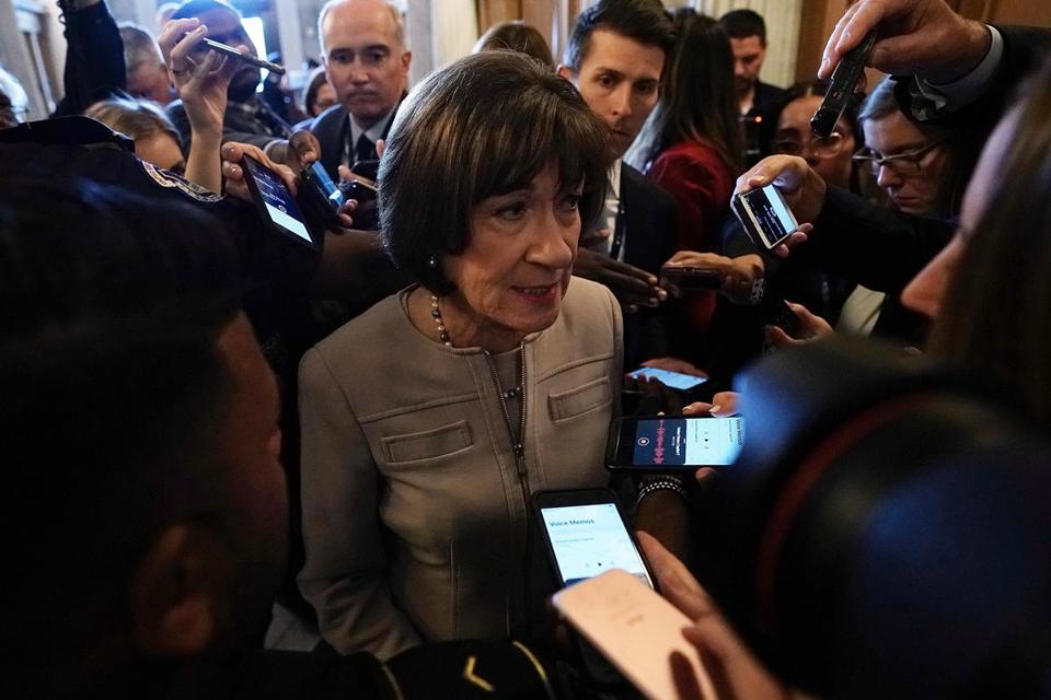 Senators Collins, Manchin back Kavanaugh, paving way for confirmation