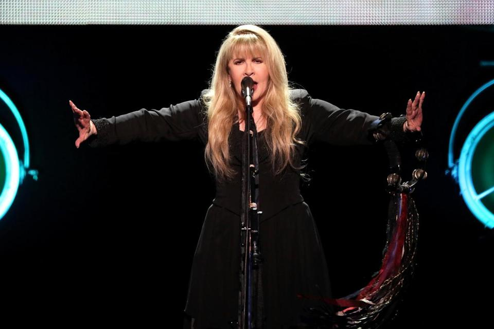 Stevie Nicks performed at the TD Garden in 2016.